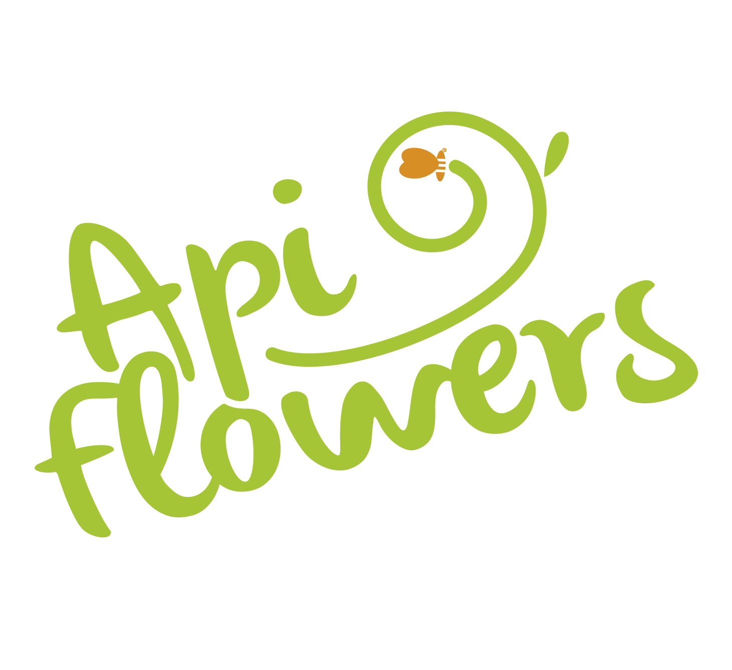 Création d'un logo pour apiflowers