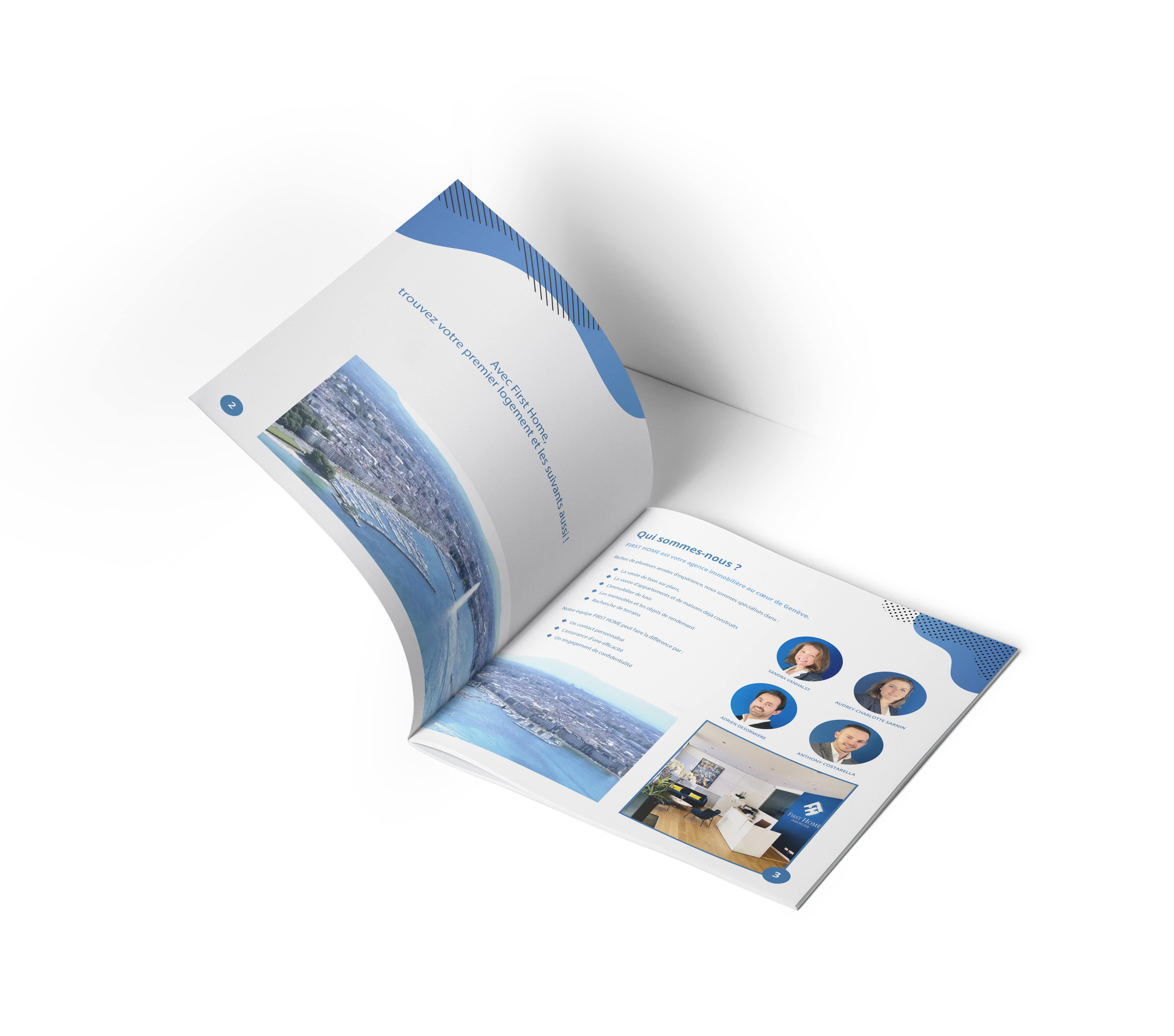 confection de brochure professionnel