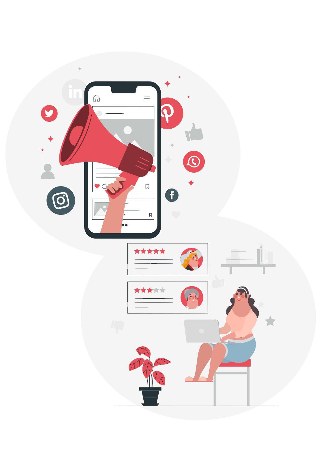 communication réseaux social
