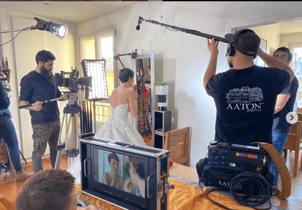 tournage agence de publicité